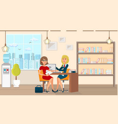 Flat legal assistance for married people vector