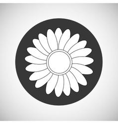 Flower Garden icon Colorfull vector image