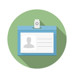 Identification Card Icon vector