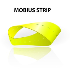 Mobius strip vector