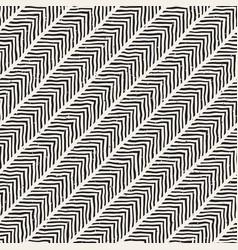 Seamless geometric pattern monochrome black and vector