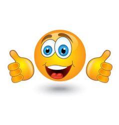 yellow round emotion smiles vector image