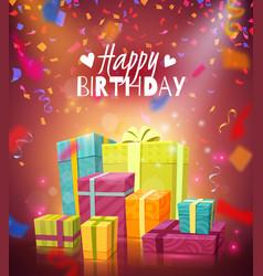 Happy birthday background vector