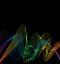 rainbow weave vector image vector image