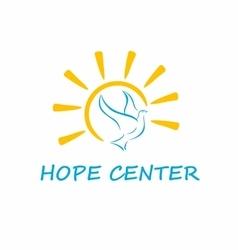 Hope Center Logo vector image