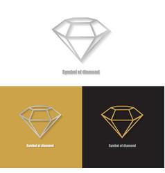 brochure to diamond vector image