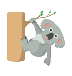 Koala icon cartoon style vector