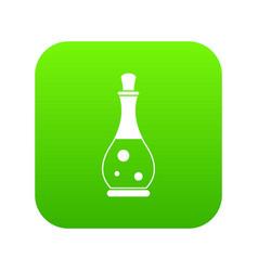 massage oil icon digital green vector image