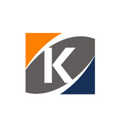 Success solution letter k vector