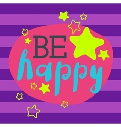 Beautiful happy birthday invitation cards vector image vector image