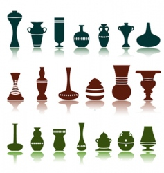 decorative objects vector image vector image
