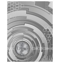 electronic disco vector image vector image