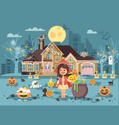 banner brochure cartoon vector image vector image