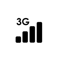 3g generation network icon vector