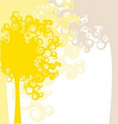 Autumn forest design vector