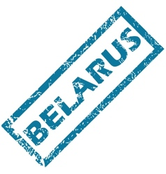 Belarus rubber stamp vector