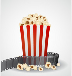 cinema movie background vector image