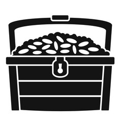 dower chest icon simple style vector image