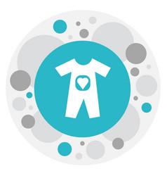 Family symbol on bodysuit vector