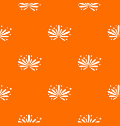 fireworks pattern seamless vector image
