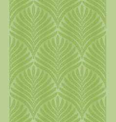 Greenery palm foliage seamless pattern vector