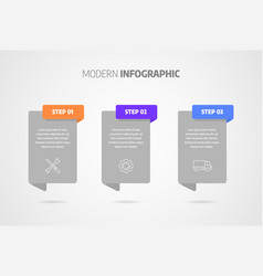 Infographics design business concept with vector