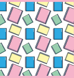 notebook papers object design to write background vector image