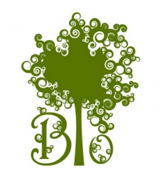 save forests symbol vector image