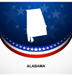 Alabama vector image
