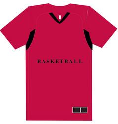 Basketball women short sleeve shooting jerseys vector