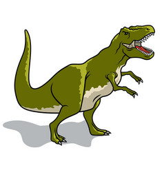 dinosaur 004 vector image