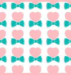 Fashion hipster cute seamless pattern with pink vector