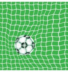 goal ball vector image