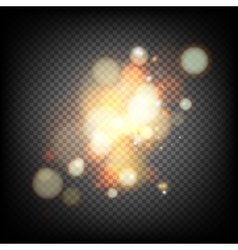 Soft bokeh and lights vector