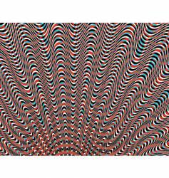 wavy vector image