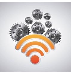 Wifi icon Internet design graphic vector