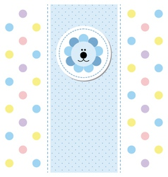 babies card design vector image