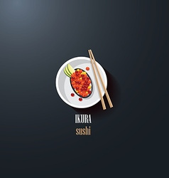 Asian Restaurant menu template vector image