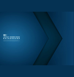 abstract gradient blue template overlap modern vector image