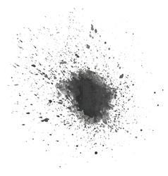 Abstract gray blot vector