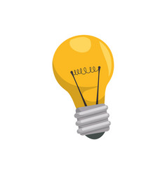 Bulb and creative ideas vector