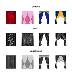 Cornices garters ribbon and other web icon in vector