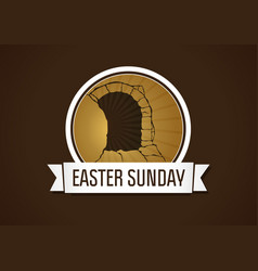 easter sunday holy week vector image