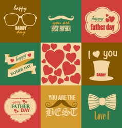 father day vector image