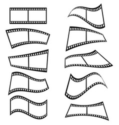 film tape set vector image