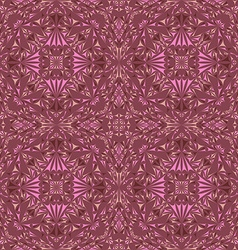 Kaleidoscope Inspired Floral Background vector