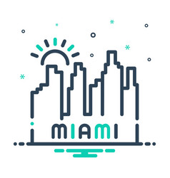 Miami vector
