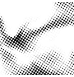 Minimalistic halftone dot black and white layout vector