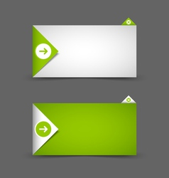 Notification window template vector