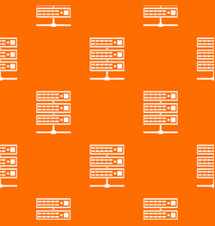 servers pattern seamless vector image